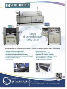 LINEA ASSEMBLAGGIO ENTRY LEVEL STE.AL.TECH.